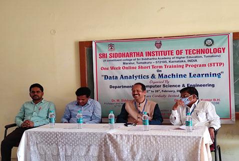 Short Term Training Program(STTP) on Data analytics